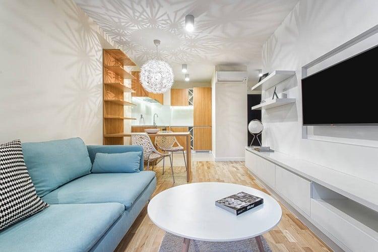 meuble tv ou table basse - boisholz - Meuble Design Salle A Manger