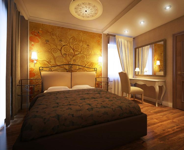 Chambre Jaune Marron - Maison design d\'intérieur et idées de ...