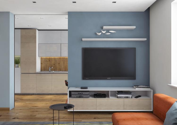 Desain Lemari Tv Bawah Tangga