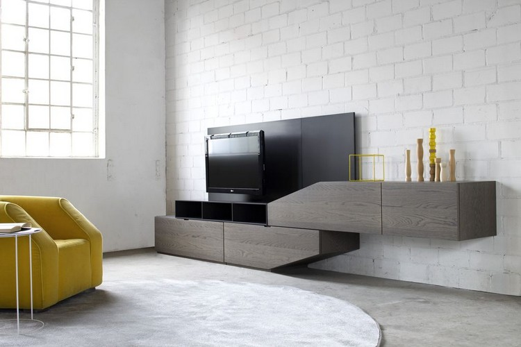 meuble de salon moderne le langage