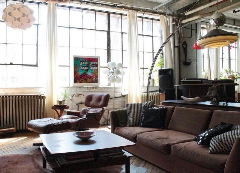Salon Style Industriel Et Ides Emprunter Pour Le Recrer