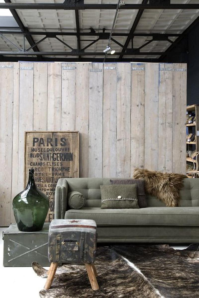 Tapis De Style Industriel