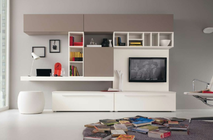 Amnagement De Bureau Moderne Dans Un Salon Design