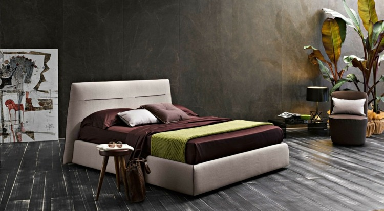 lit adulte design dans la chambre 27