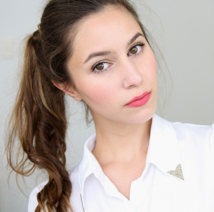 maquillage Saint-Valentin -bloggueuse-maquillage-romantique-rouge-levres-rose-look-nude