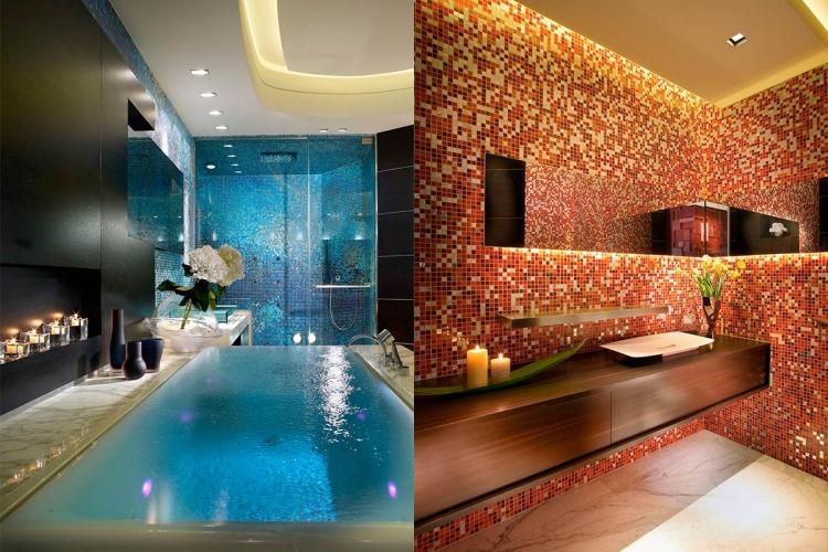 salle de bain mosaique idees et