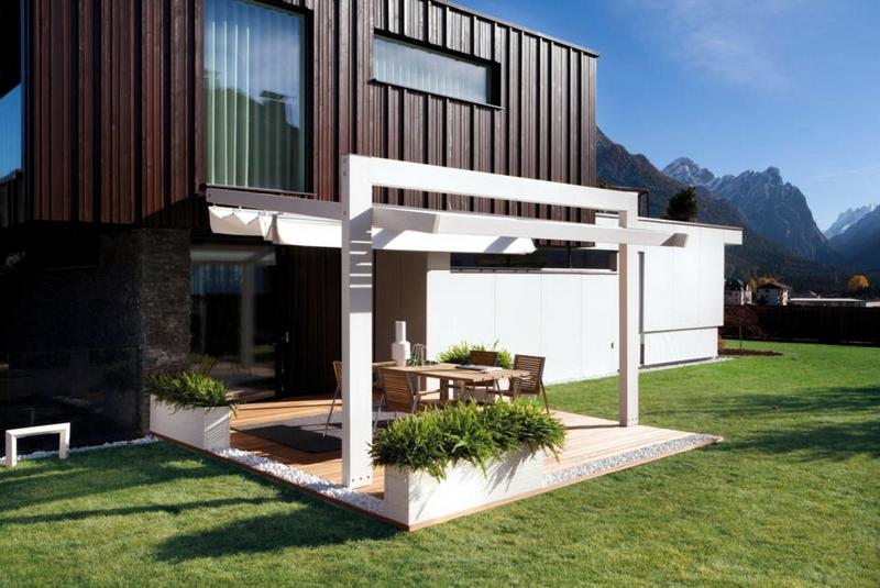 Terrasse moderne  photos fascinantes et ides amnagement