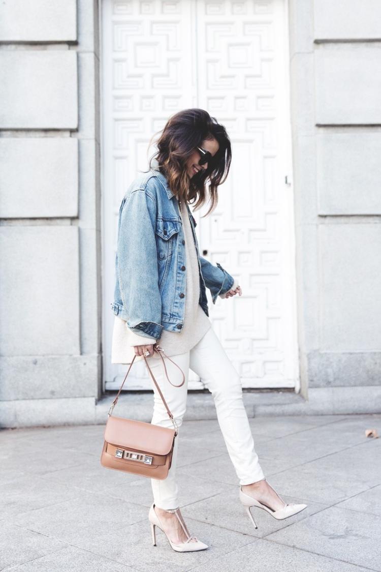 Veste en jean femme 2016  tour dhorizon des tendances