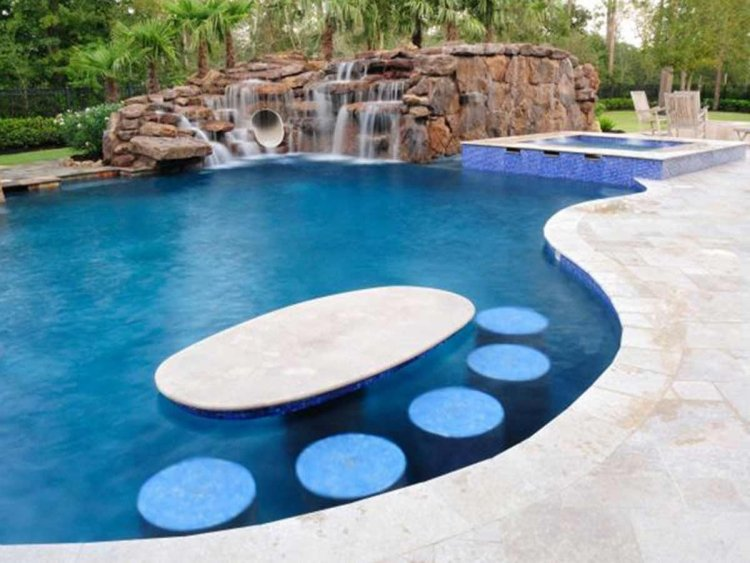 Grande piscine de design extraordinaire en 60 photos top