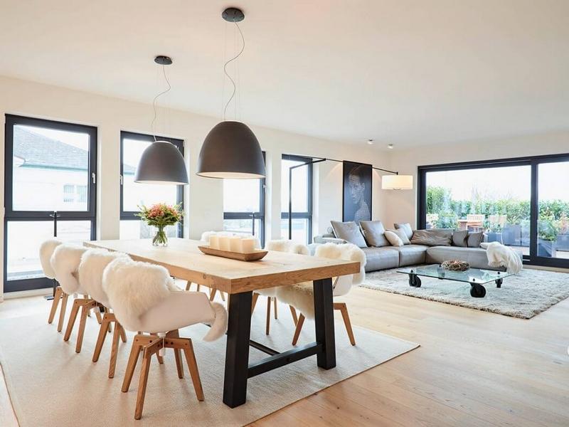 Design Interieur Meubles Blanc Bois Clair Design