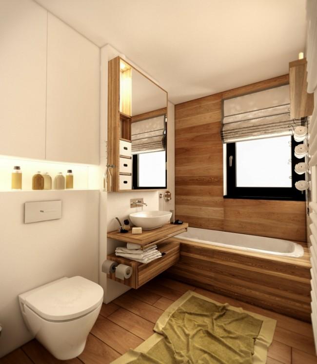 salle de bain en bois en 30 idees