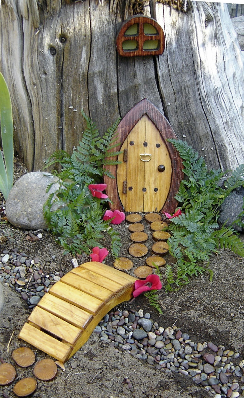 Dcoration pour jardin  faire soimmeporte de gnome dcorative