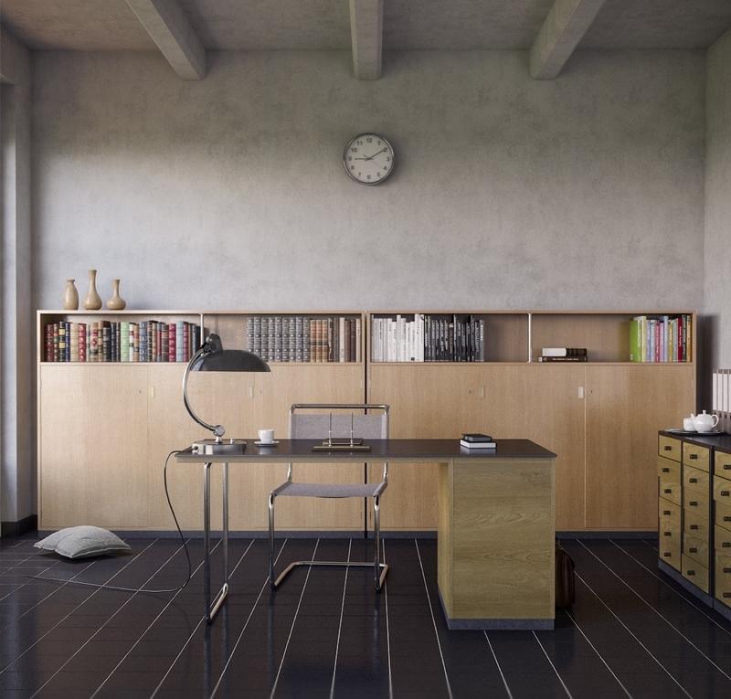 un bureau discret et beaucoup de rangement bidouilles ikea