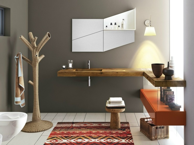 lavabo salle de bain de design italien
