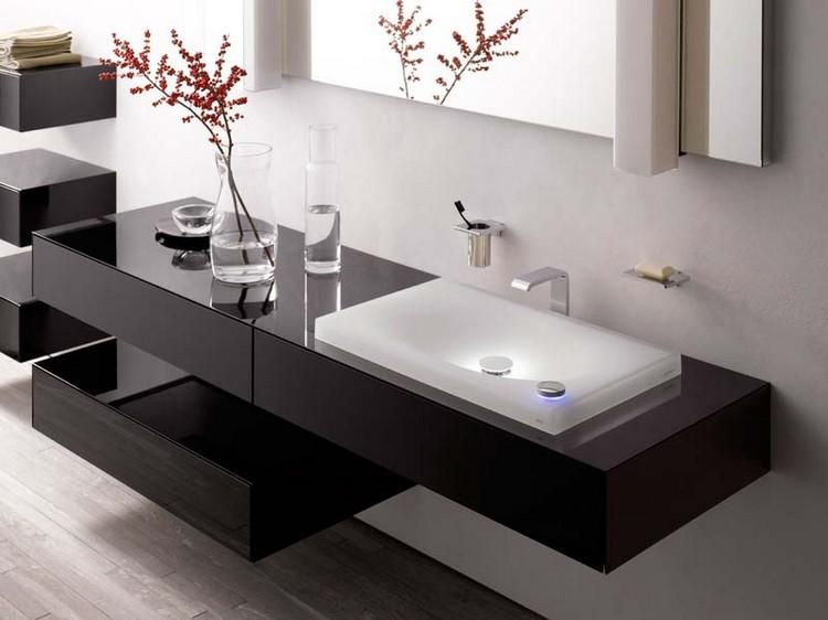 lavabo salle de bain de design italien moderne en exemples superbes