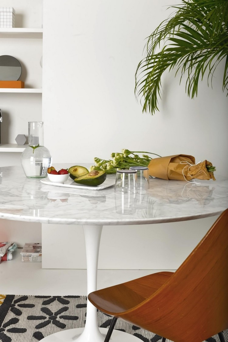 table cuisine ronde