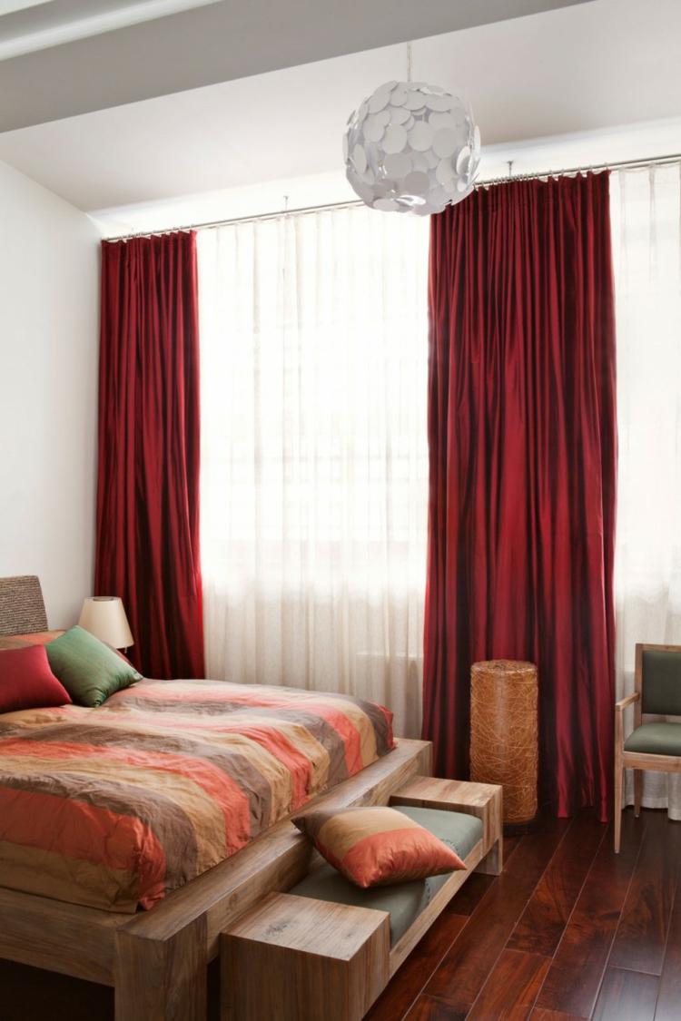 rideaux chambre adulte design d