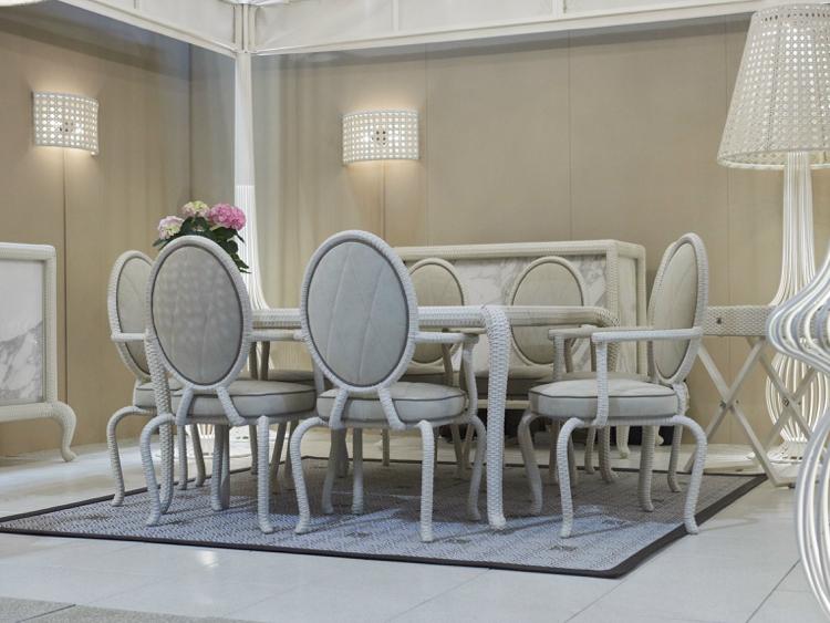Chaises de salle  manger design dans 8 collections glamour
