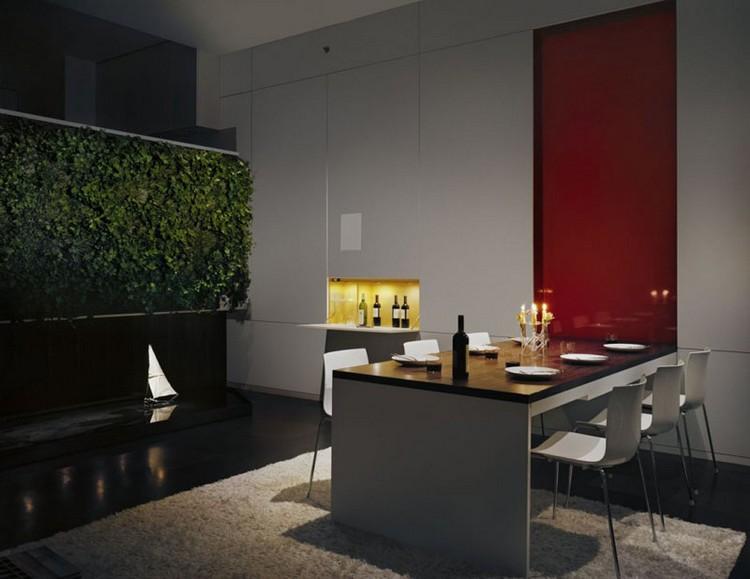 table de cuisine pliante murale