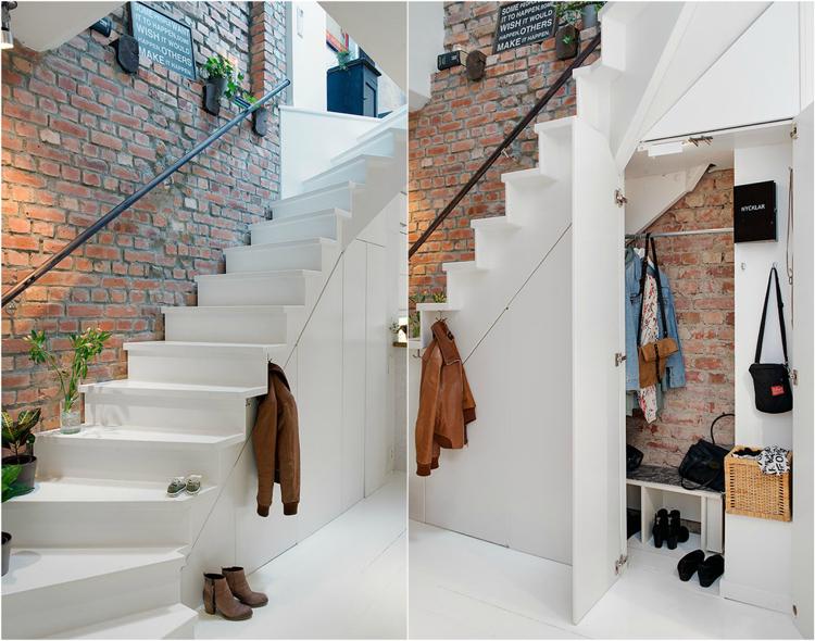 Amnagement sous escalier ides pour utiliser au mieux lespace