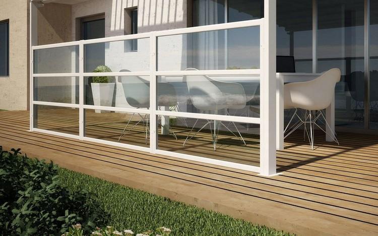 brise vent pour terrasse et balcon 20