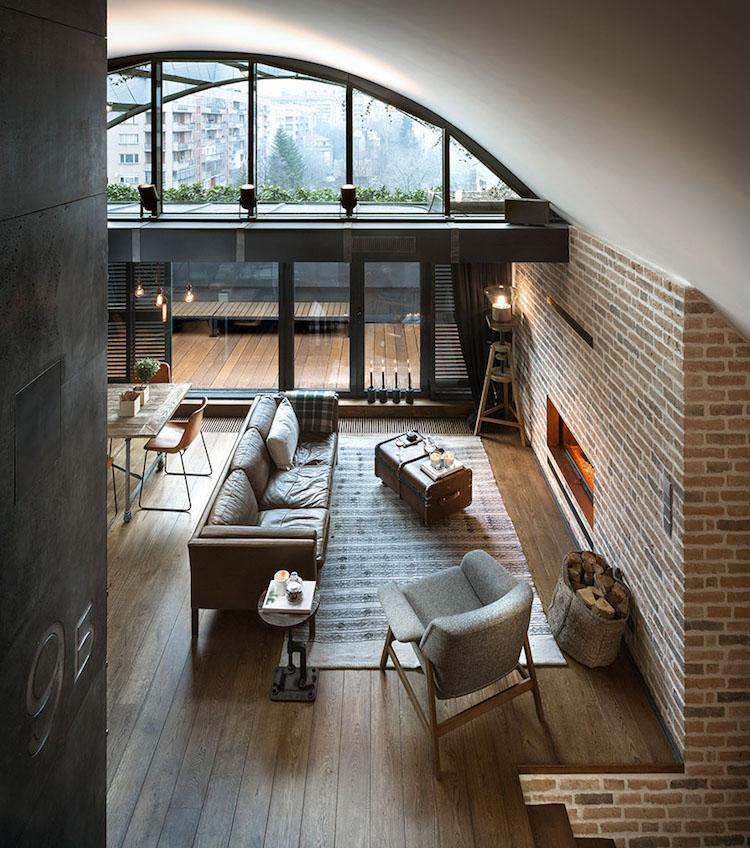 deco loft industriel design appartement sofia bulgarie