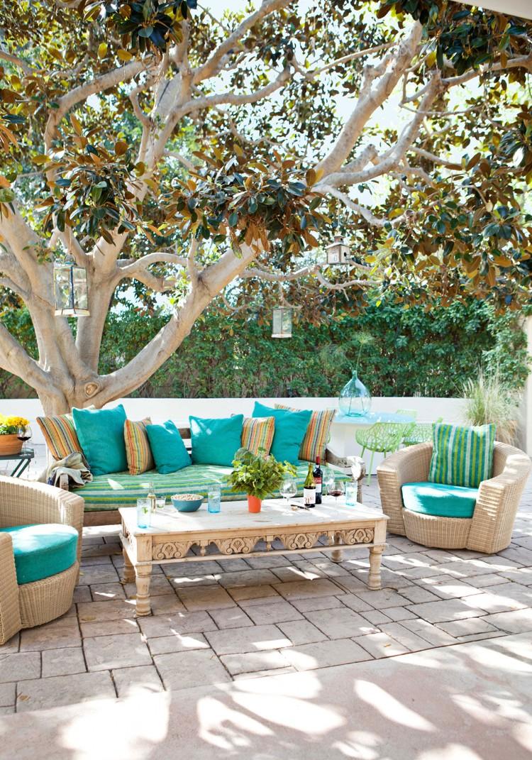 Awesome Amenagement Terrasse Salon De Jardin Photos - House Design ...
