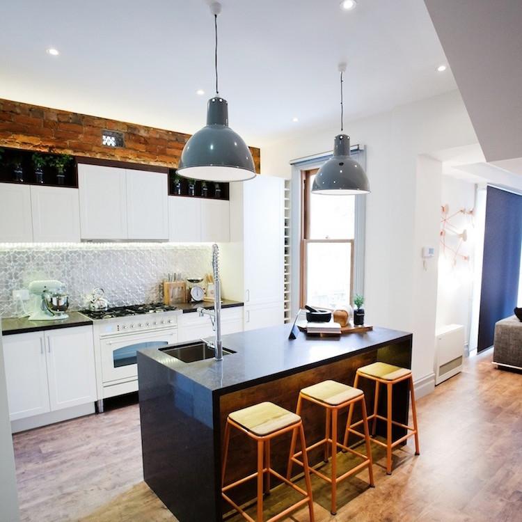 Cuisine style industriel  ides de dco meubles et