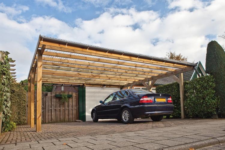 Abri De Voiture En Bois 18 Idees Diy Pour Abriter Son Vehicule