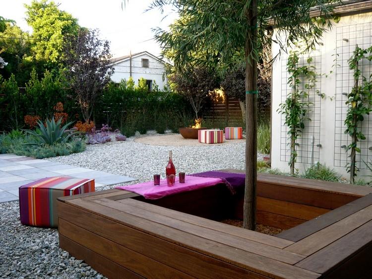 Arbre de jardin intrieur  extrieur dans 9 maisons design