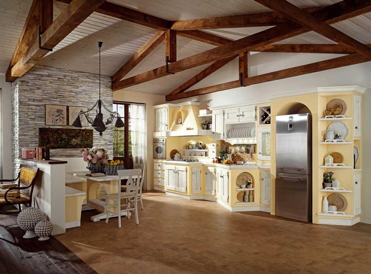 Cuisine rustique moderneides qui rveilleront votre imagination