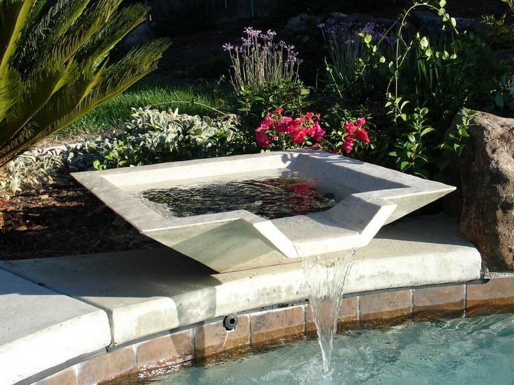 fontaine exterieure de jardin en 18