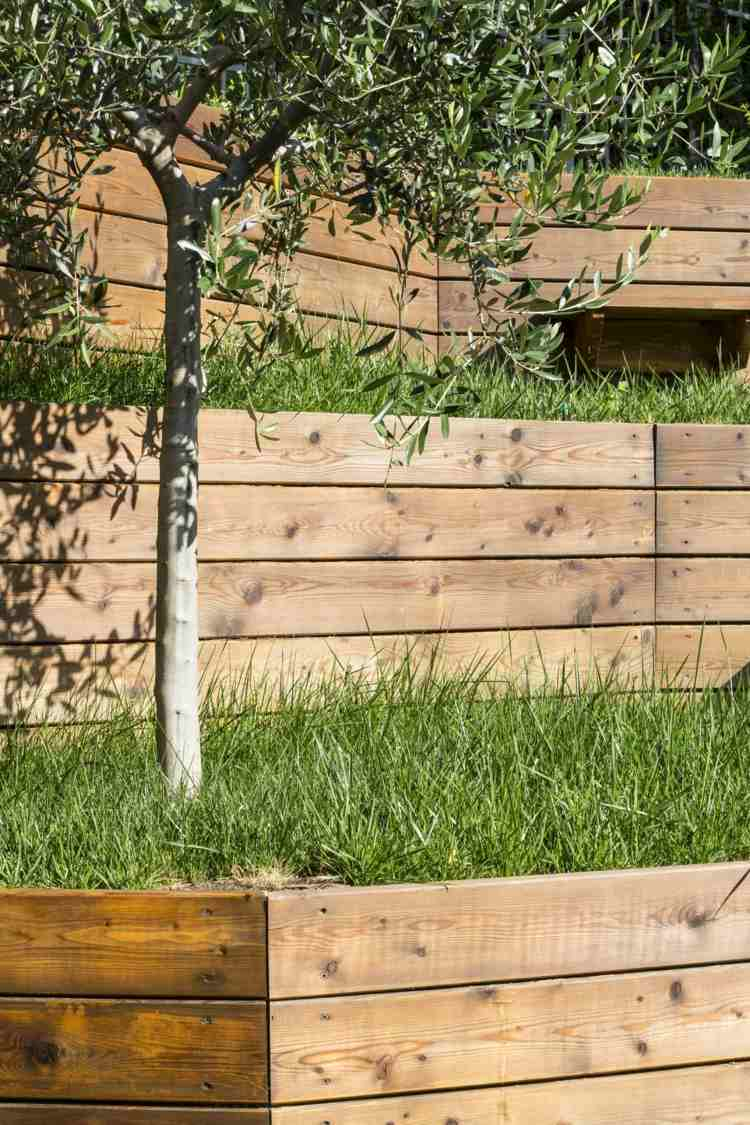 Bois Jardin Mur 95 Idees Pour La Cloture De Jardin