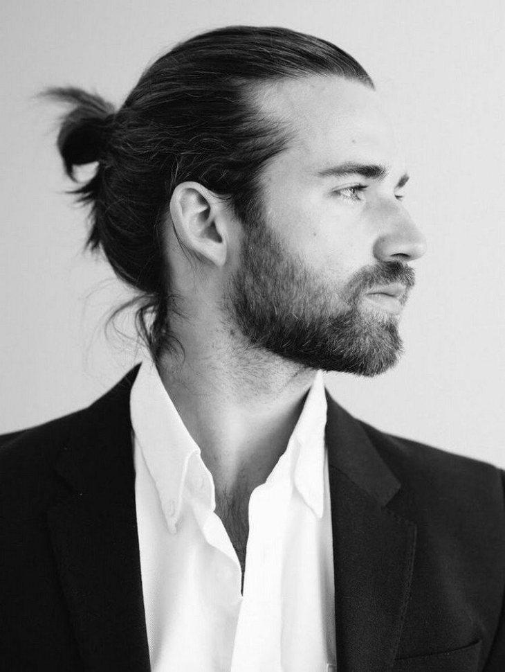 coiffure homme tendance -man-bun-chignon-masculin-cheveux-longs