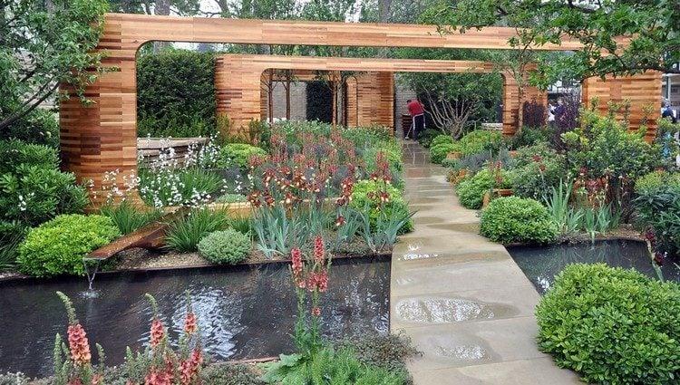 Jardin contemporain et dco originale en 15 ides damnagement