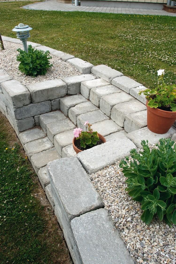 grosse pierre decoration jardin jardin deco exterieur idee amenagement exterieur pas cher beau. Black Bedroom Furniture Sets. Home Design Ideas