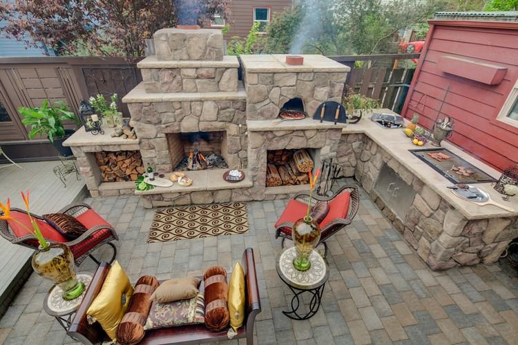 barbecue en pierre pour equiper la