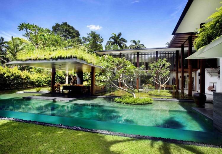 Piscine moderne en 40 ides de conception originales pour votre maison