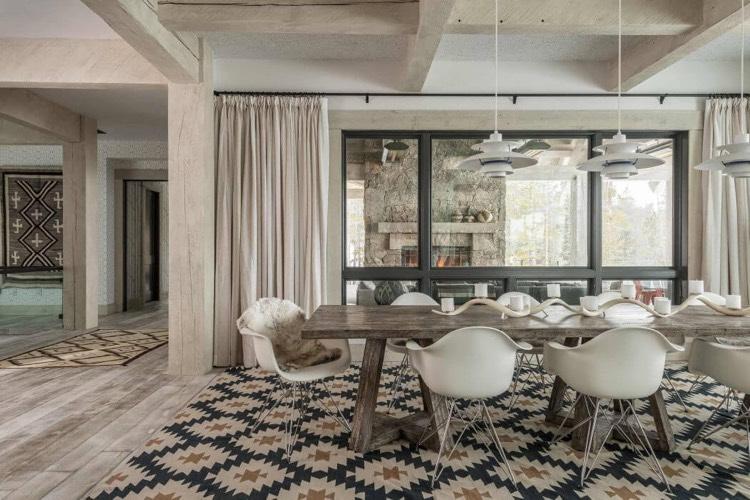 salle a manger design contemporain en