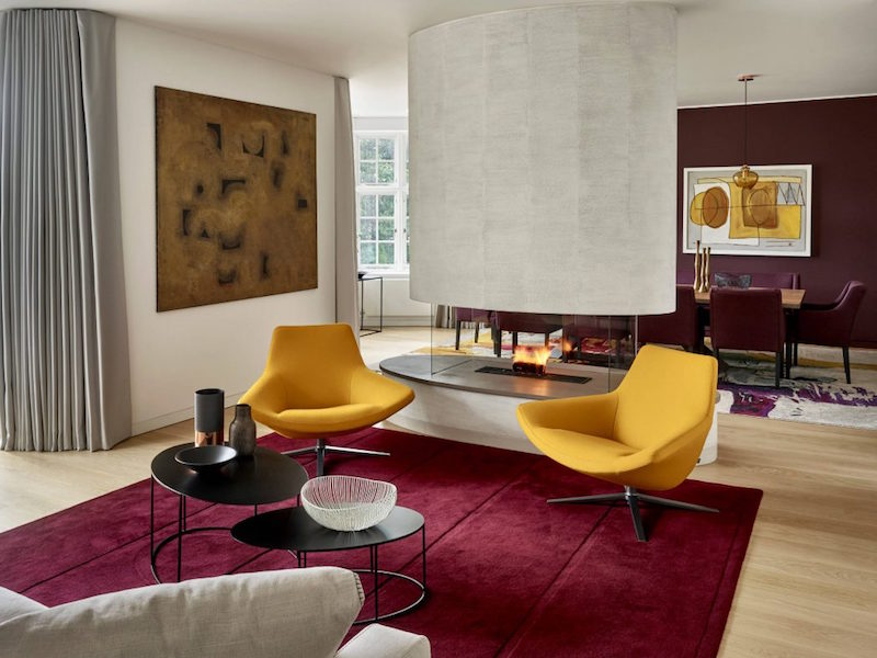 Salon contemporain dco par les maisons darchitecte du monde entier