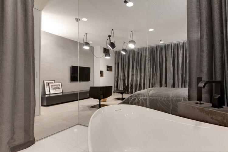 S Design Interieur Salon Gris Blanc Chambre Cosy