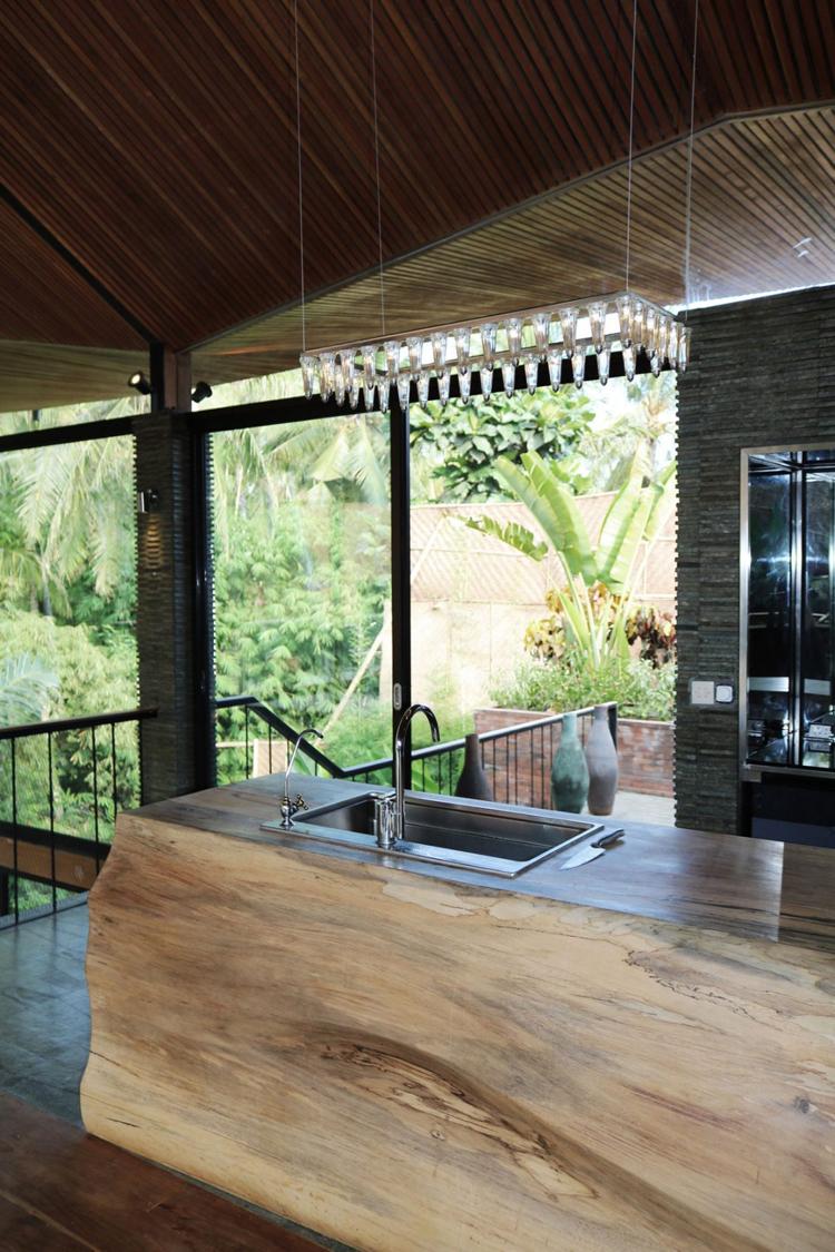 Terrasse Bois Exotique Revtement En Teck Et Parement