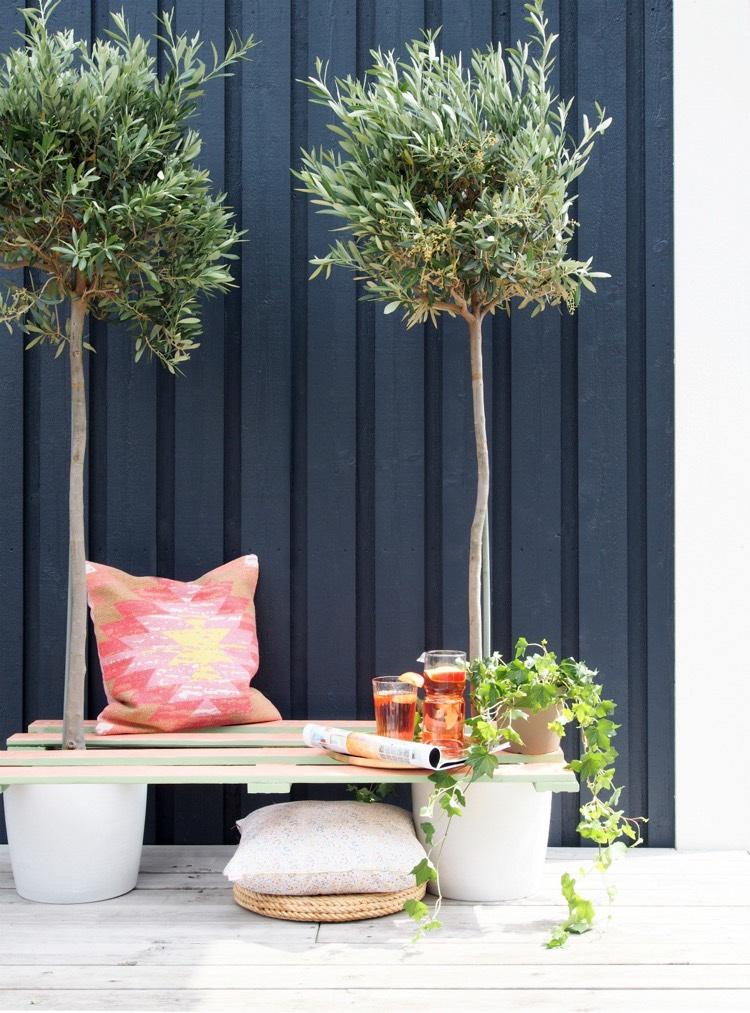 Bricolage avec des palettes  15 ides pour meubler lespace outdoor