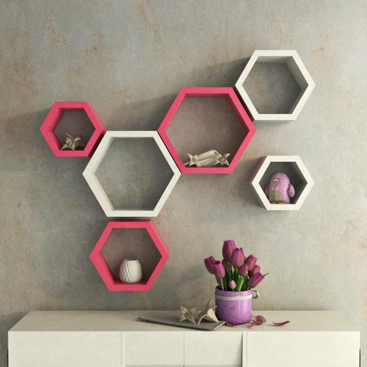 Le motif hexagone en dcoration dintrieur  20 ides super inspirantes