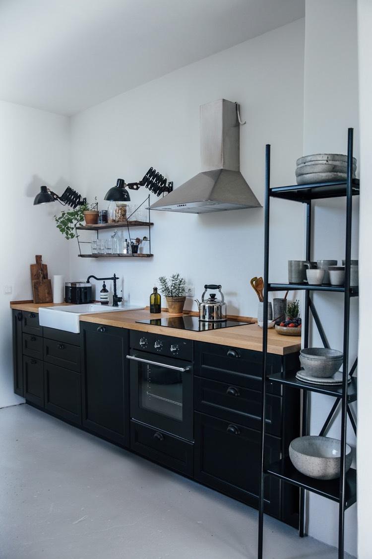 etagere plan de travail cuisine