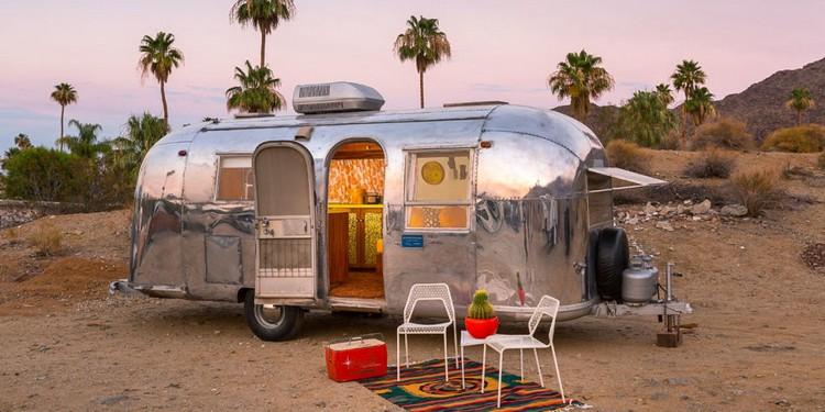 Vacances En Camping Car Airstream Pour Vivre Une