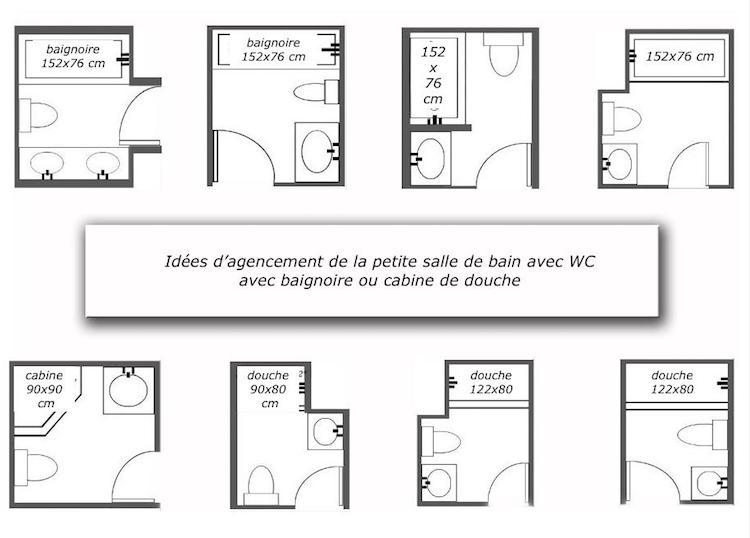 Plan Salle De Bain Wc - Moble.top