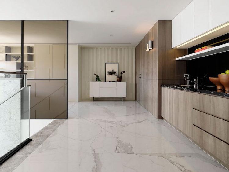 Cuisine Avec Marbre Noir - Décoration de maison idées de design d ...