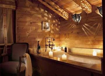 Decoration Chalet Montagne   Chambre Chic Et Moderne Avec Deco ...