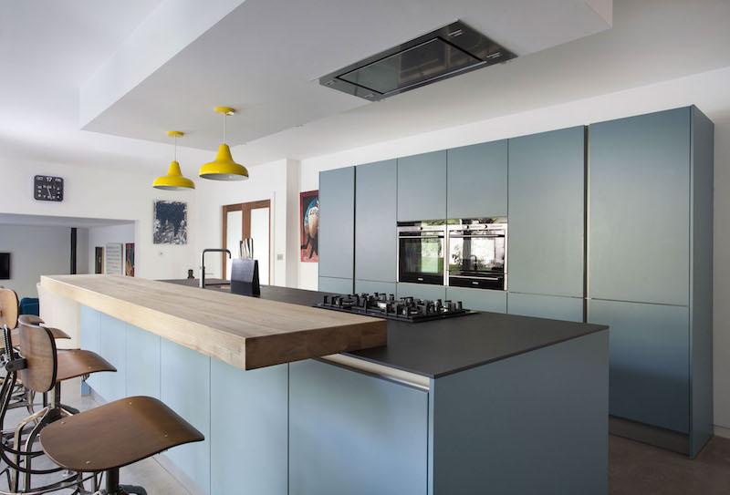 Free Cuisine Bleu Gris Canard Ou Bleu Marine Code Couleur Et Idees De Decoration Cuisine With